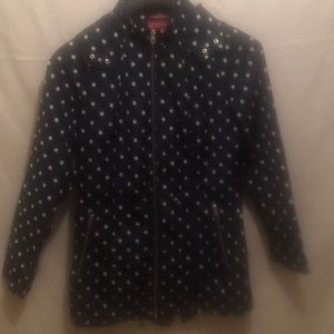 Polka Dot Water Resistant Jacket